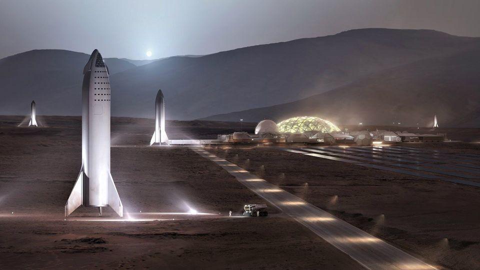 El magnate de la tecnología Elon Musk proyecta iniciar la construcción de una colonia en Marte en 2028.