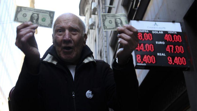 Cerró la semana arriba de los $ 40 — Dólar hoy