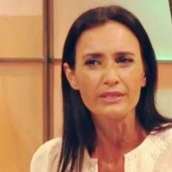 Federica Pais lloró por el arresto de su hijo.