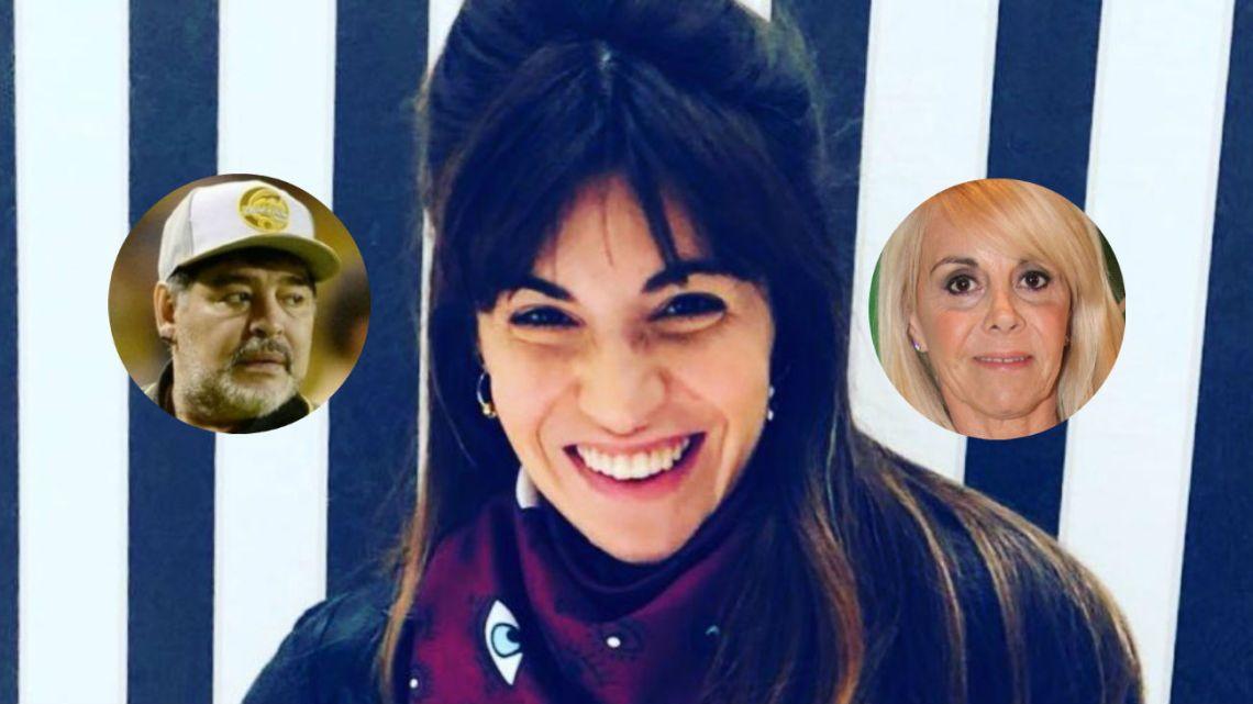 Gianinna Maradona recordó el amor entre Diego y Claudia