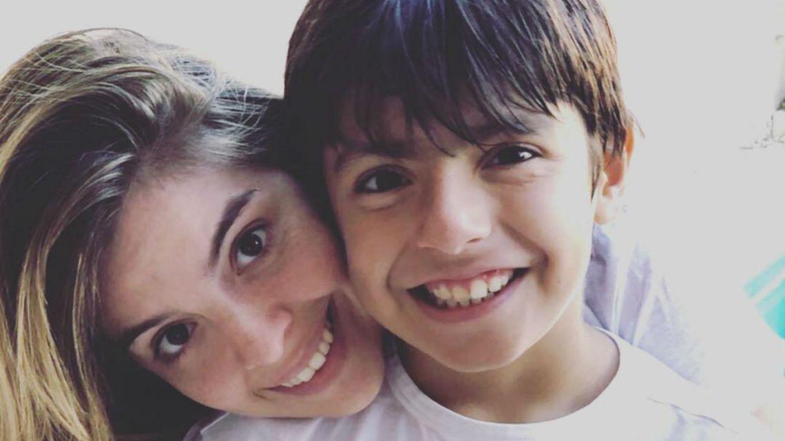 """La actriz escribió un mensaje emotivo para el hijo de Gianinna. """"Sos la persona con el corazón más lindo que conozco""""."""