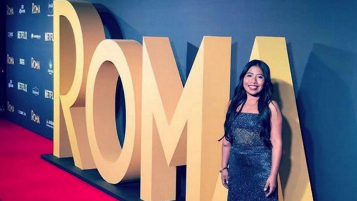"Yalitza Aparicio, la estrella de ""Roma""."