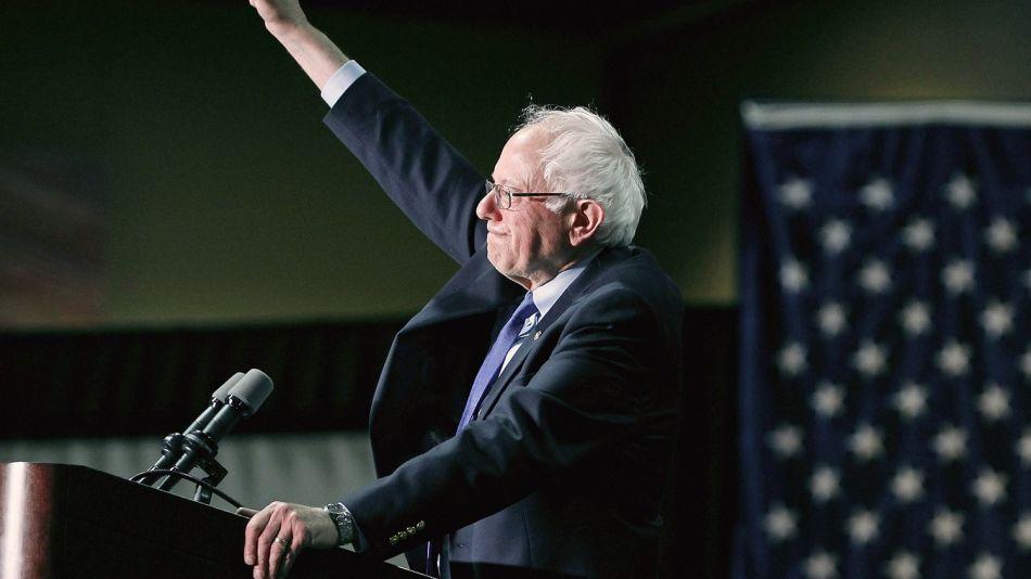Presidential Candidate Bernie Sanders Holds Primary Night Rally In Phoenix, Arizona