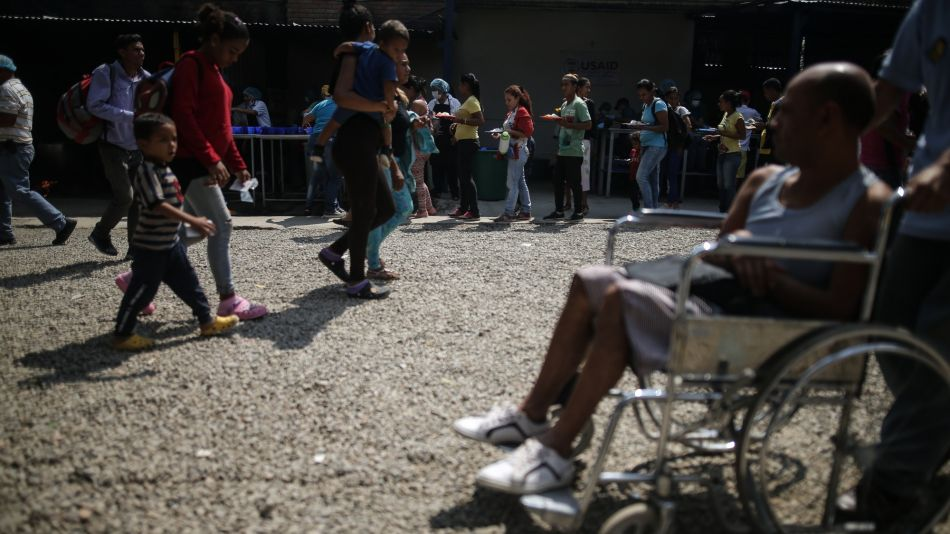 A Border Shelter Offers Aid While Maduro Blocks Supplies From Reaching Venezuela