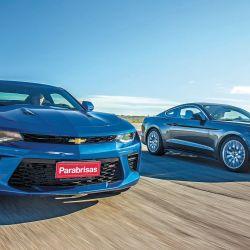 Chevrolet Camaro SS vs Ford Mustang GT