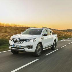 Renault Alaskan, en los alpes franceses