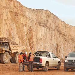 Operativo Volkswagen Amarok: viajamos con dos pick-ups a Cerro La Vanguardia, una minera a cielo abierto en la provincia de Santa Cruz