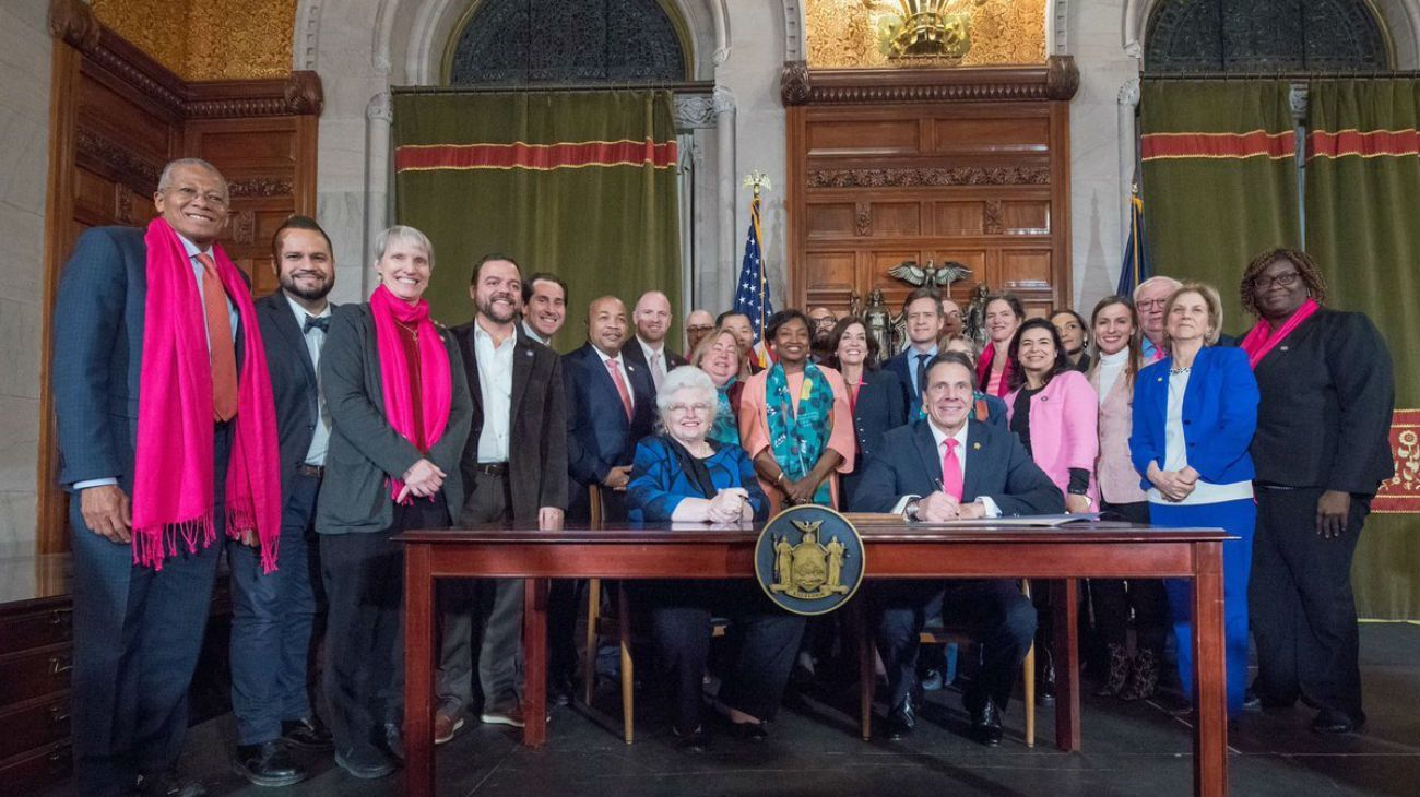 Nueva ley de aborto en Nueva York