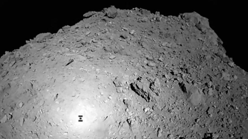 Capsula japonesa intentará aterrizar en un asteroide lejano