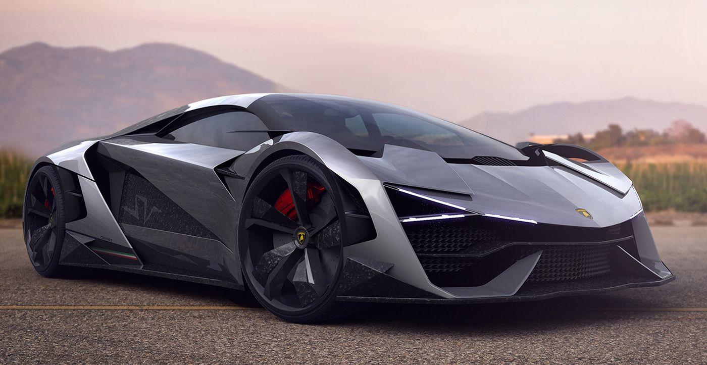 Parabrisas El Lamborghini Del Futuro