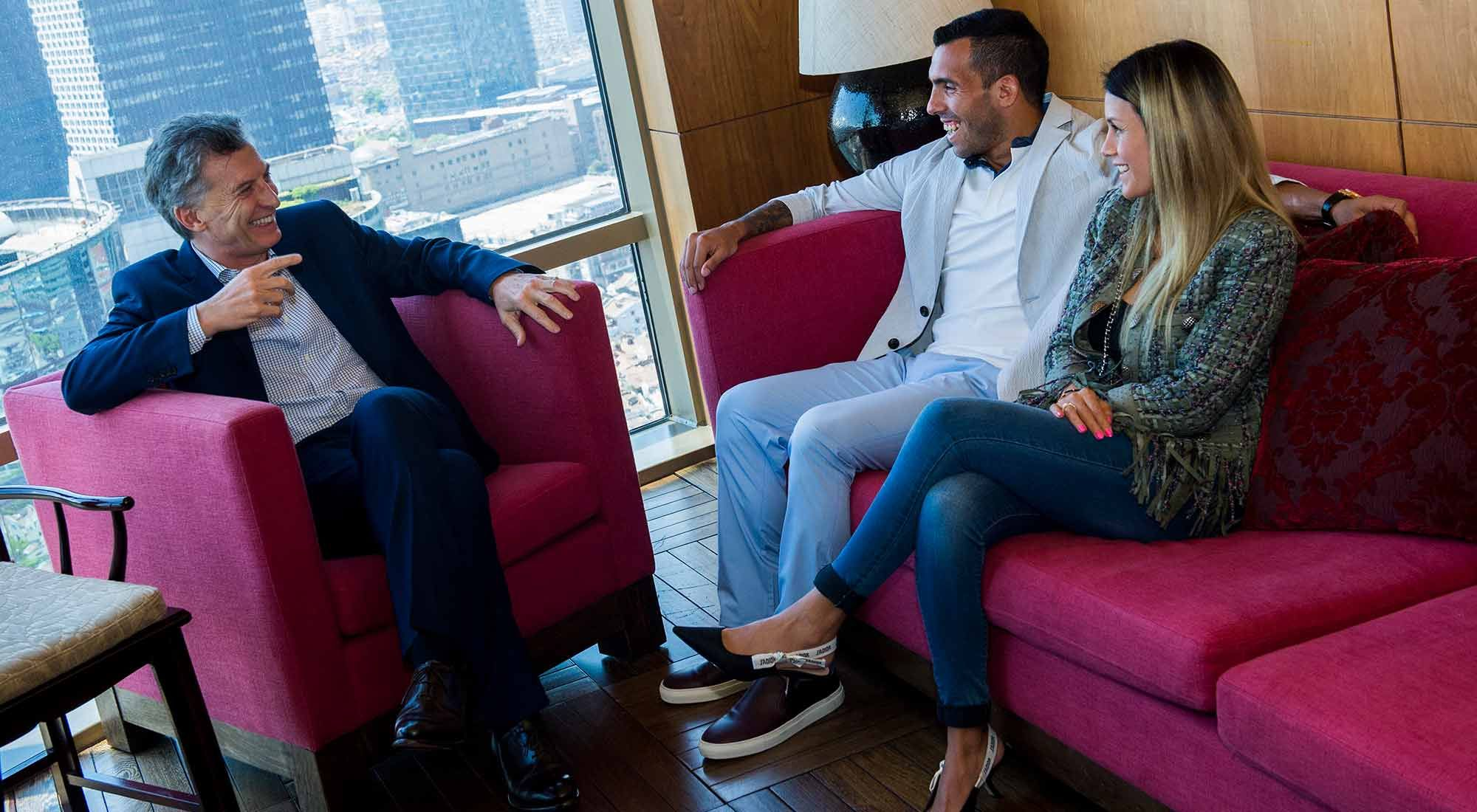 """El día que Tevez habló de su vínculo con Macri: """"Siempre me ayudó con el tema de la plata"""""""