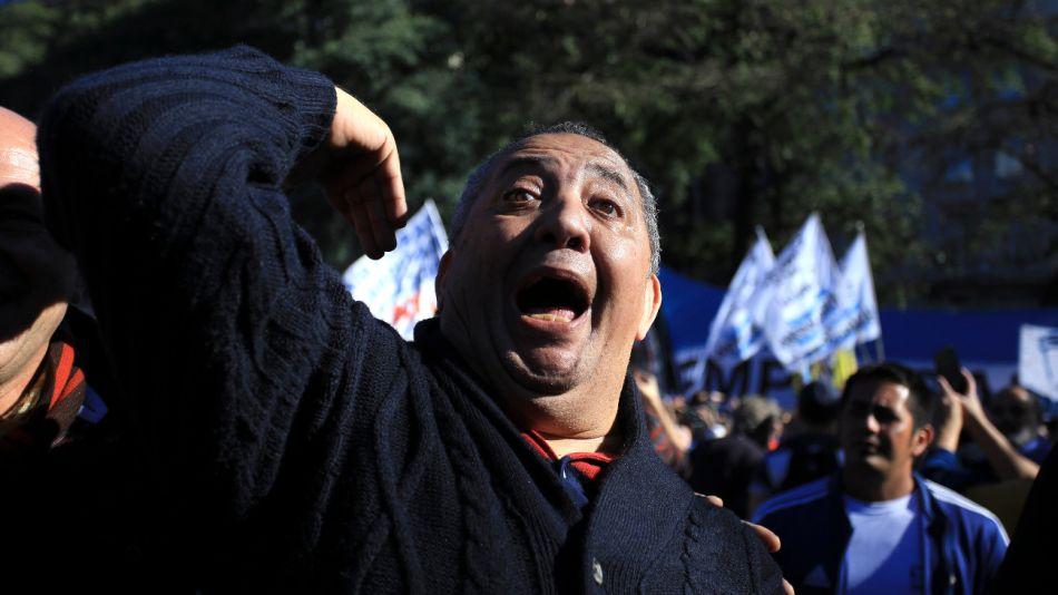 El dirigente Luis D'Elía.