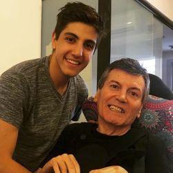 Facundo Calvo le dedicó un emotivo mensaje de cumpleaños a su papá Carlín