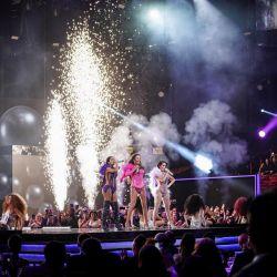 Las artistas deslumbraron en Premios Lo Nuestro.