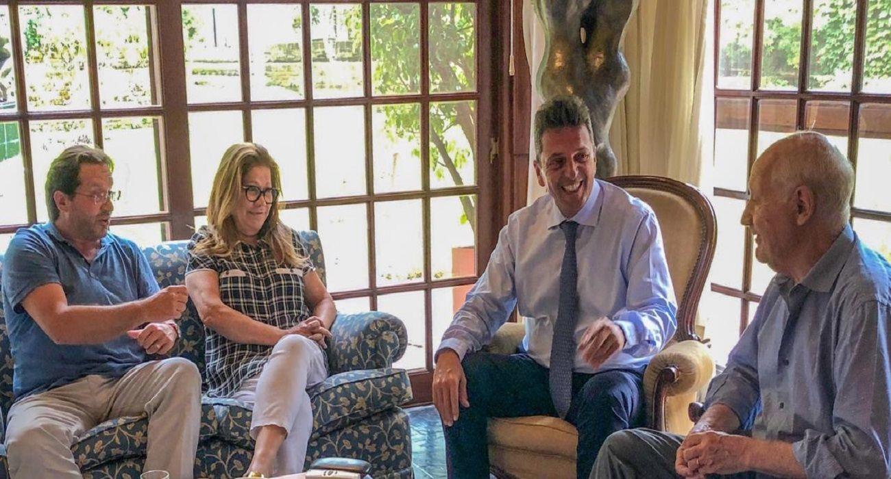 Cumbre entre Massa, Camaño y los Lavagna: hablaron 4 horas sobre la economía y el FMI