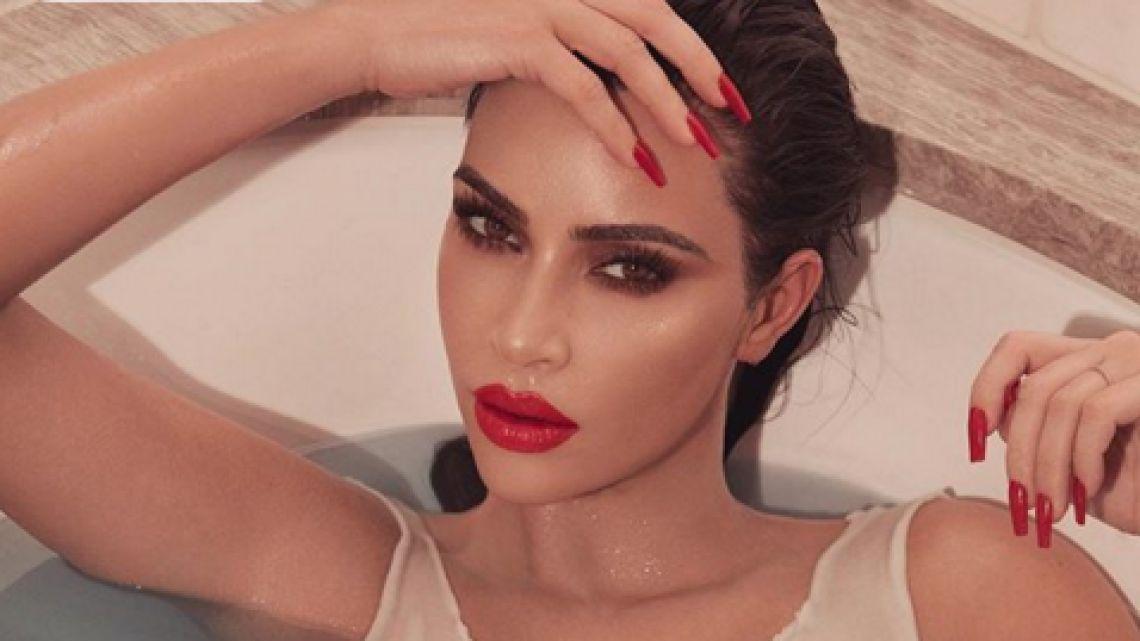 Kim Kardashian, una diosa.