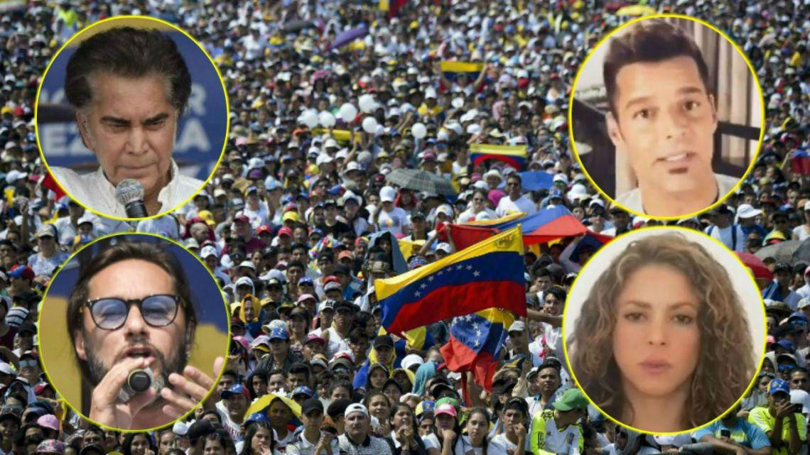 32 artistas se unieron por Venezuela.