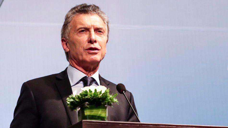 Presidente Mauricio Macri.