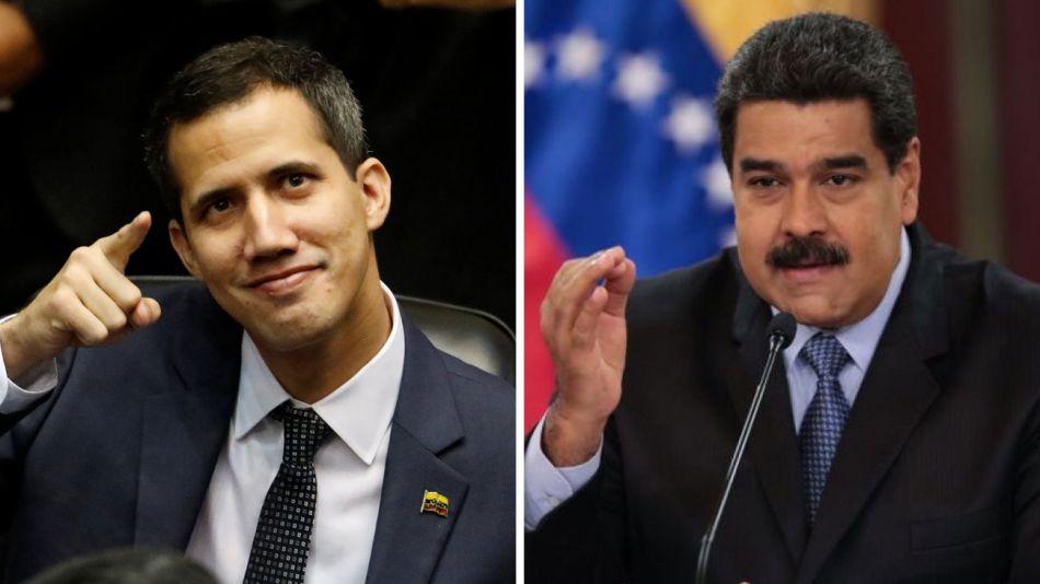 Guaidó y Maduro 20190222