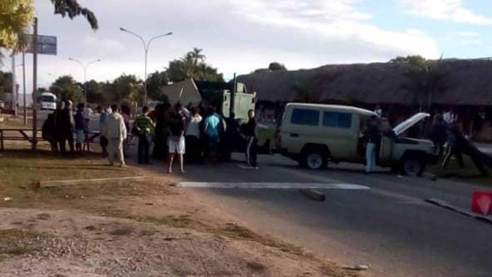 Enfrentamiento en Venezuela entre aborígenes y militares en Kumarakupay.