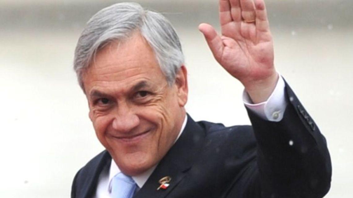 Chile President Sebastián Piñera.