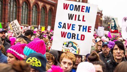 Reclamo. En los últimos tiempos se ha consolidado el empoderamiento femenino con marchas multitudinarias en todo el mundo.