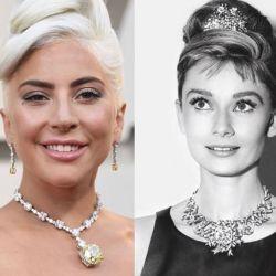 Lady Gaga en los Oscars 2019.