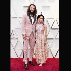 Jason Momoa, junto a su esposa Lisa Bonet