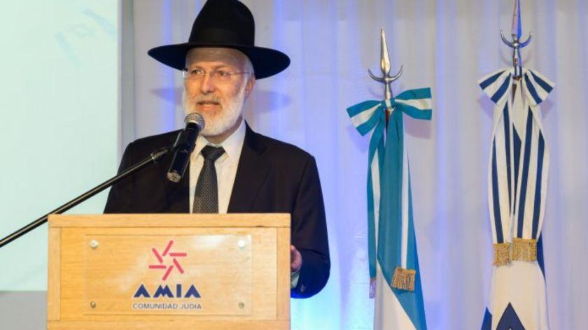 Noticias: Repudian ataque contra el gran rabino Davidovich