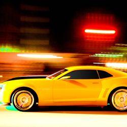 Chevrolet Camaro 'Bumblebee' del film Transformers Dark of the Moon (2011).