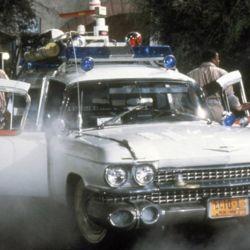Cadillac Miller-Meteor Ecto-1 1959 de Los Cazafantasmas.