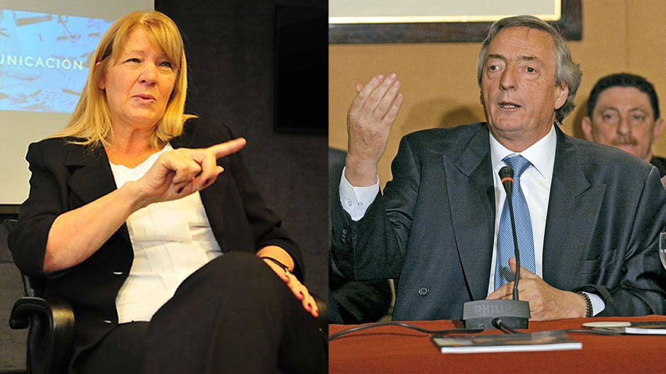 Sin usar el DNU de Macri, Stolbizer pide el decomiso de bienes de Néstor Kirchner