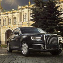 El Aurus Senat, vehículo oficial de Vladimir Putin