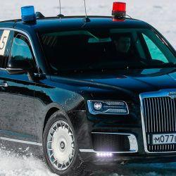 El Aurus fue testeado recientemente en las duras condiciones del invierno de Siberia
