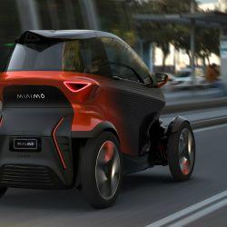 Seat Minimó es un vehículo urbano ultracompacto que combina las cualidades de las motos y de los autos.