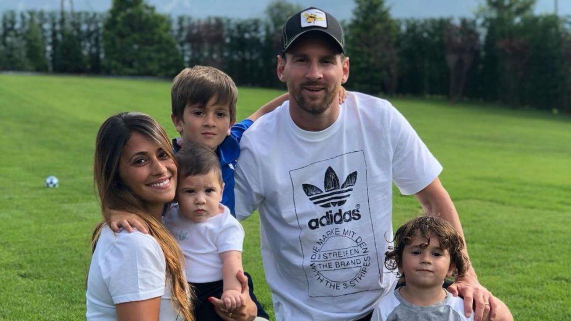 El tierno gesto de Messi por el cumpleaños de Antonela