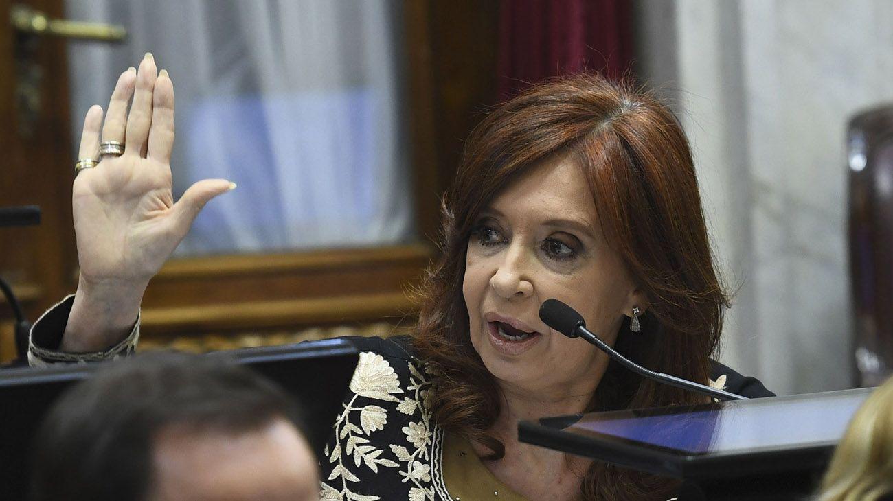 """Cristina Kirchner en el Senado: """"Estamos ante un sistema muy perverso"""""""