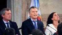 Mauricio Macri en inicio de sesión ordinaria.