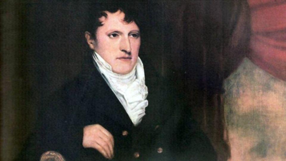 Manuel Belgrano izó por primera vez la bandera argentina el 27 de febrero de 1812 a orillas del río Paraná, en el entonces pueblo de Rosario.