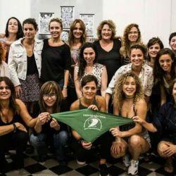 El colectivo de Actrices Argentinas a favor del aborto legal.