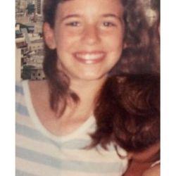 Griselda Siciliani a los 11 años.