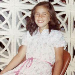 Nancy Dupláa a los 11 años.