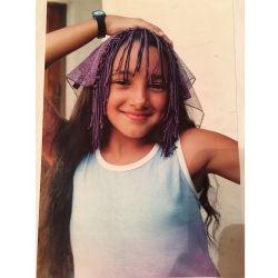 Thelma Fardin a los 11 años.