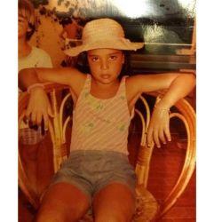 Anita Co a los 11 años.