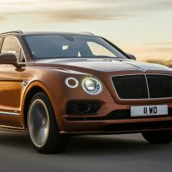Bentley Bentayga Speed.