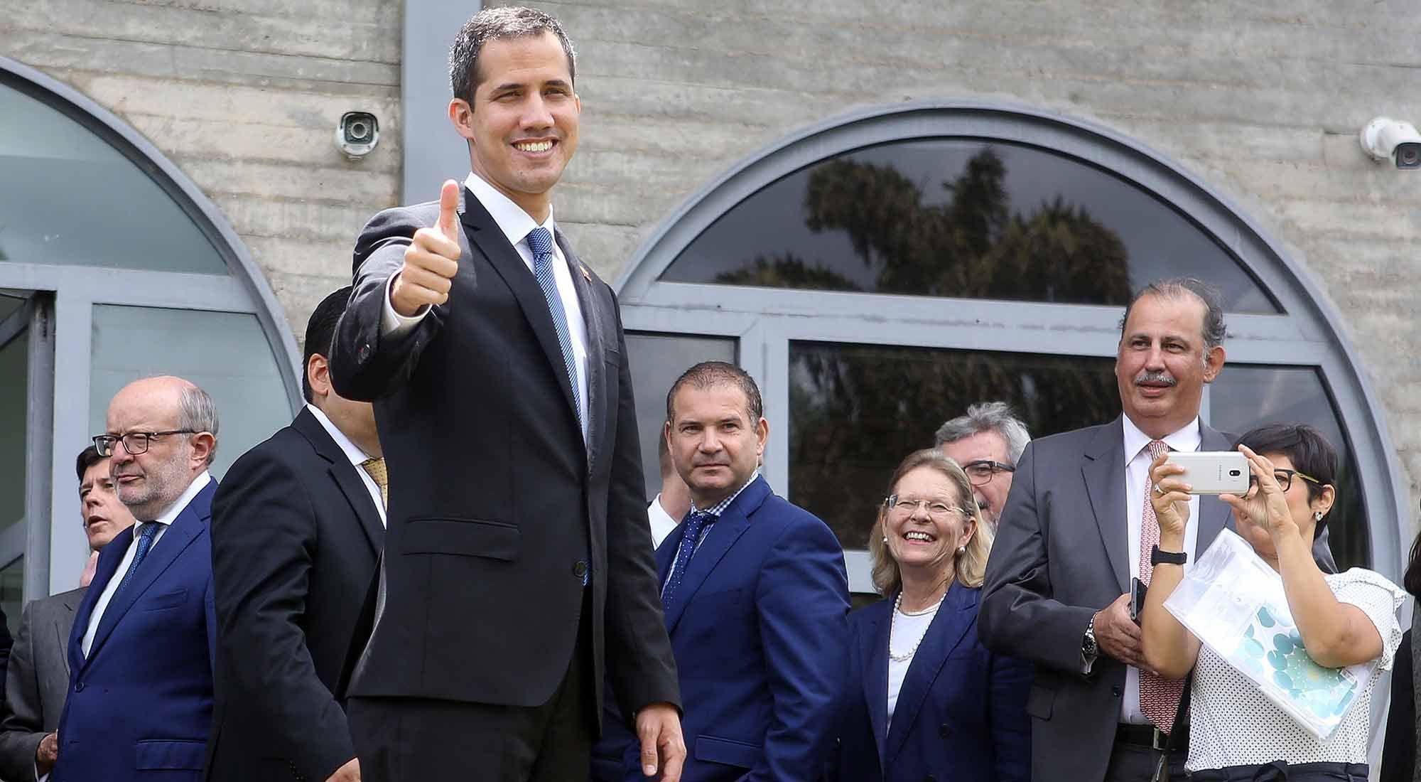 Tras su visita a Jair Bolsonaro, Juan Guaidó viaja a Paraguay para reunirse con Mario Abdo