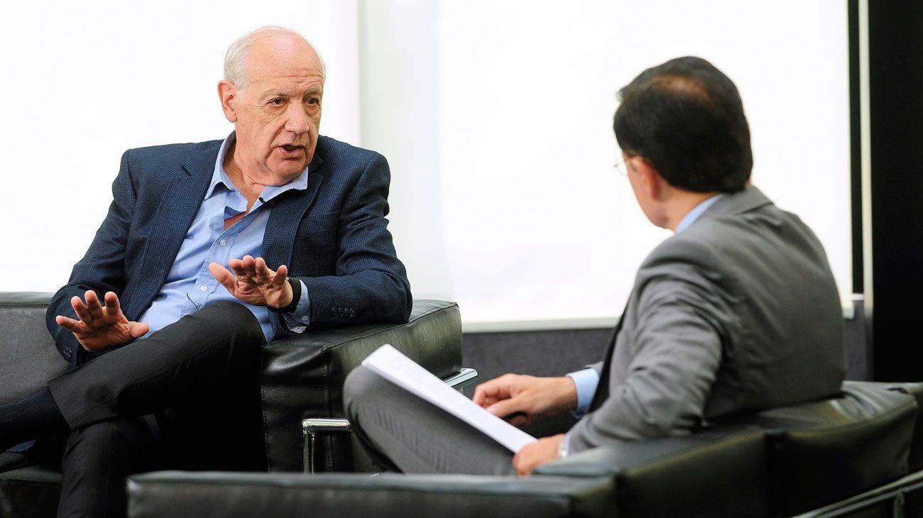 Cuándo y cómo ver el adelanto de la entrevista de Jorge Fontevecchia a Roberto Lavagna