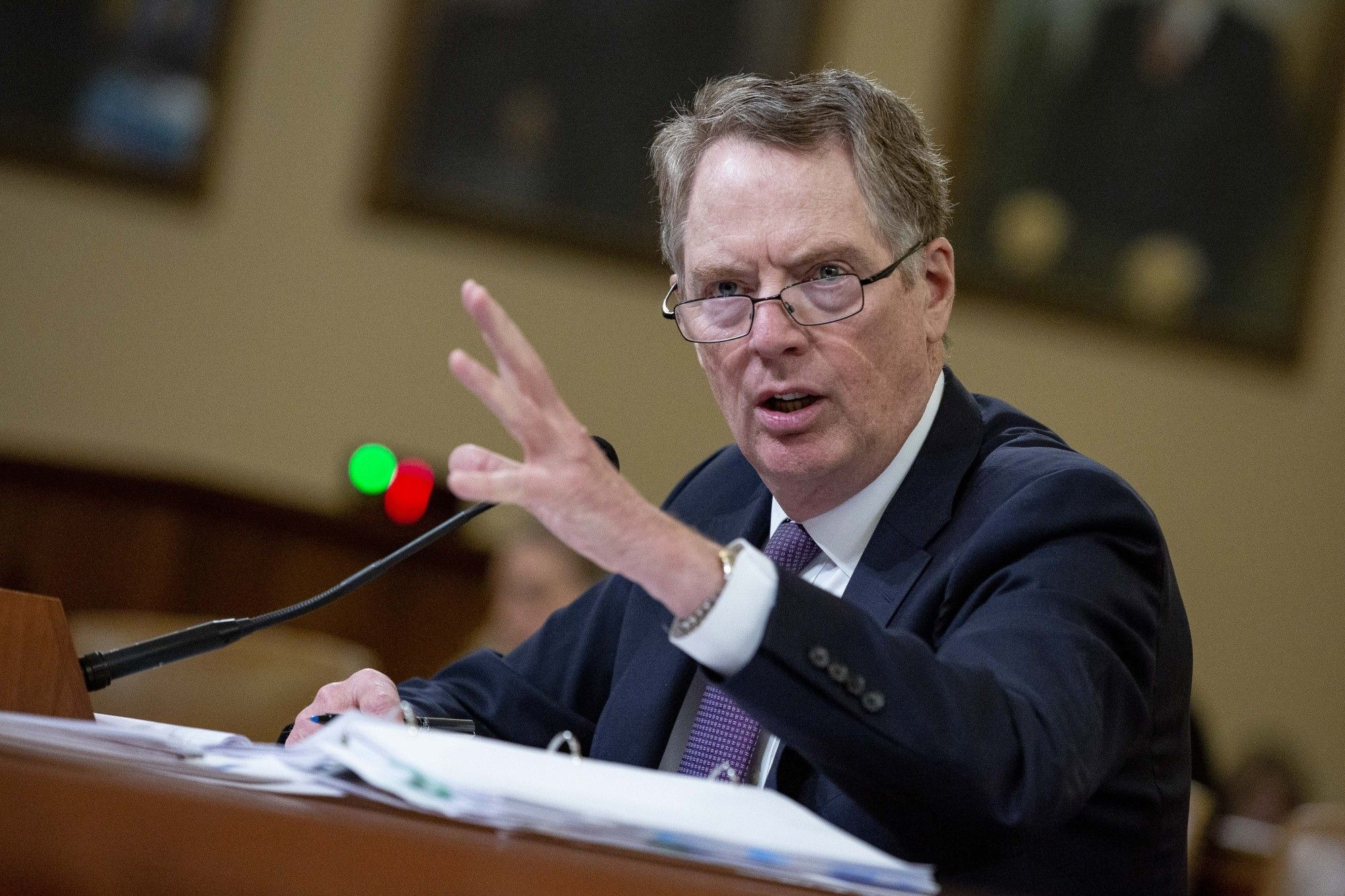 Trade Representative Robert Lighthizer Testifies Before House Ways And Means Committee