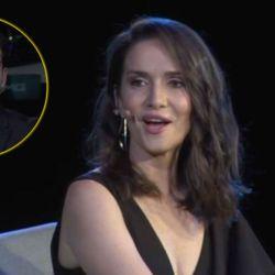 Natalia Oreiro dejó mudo a Ignacio González.