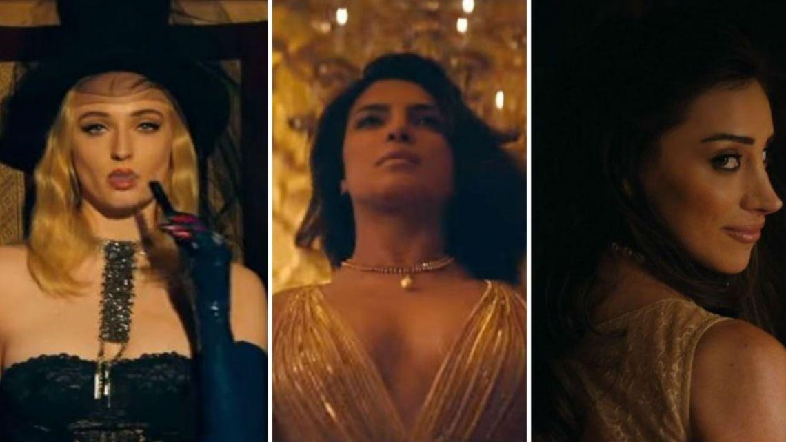 Priyanka, Sophie y Danielle protagonizan el nuevo video de los Jonas Brothers
